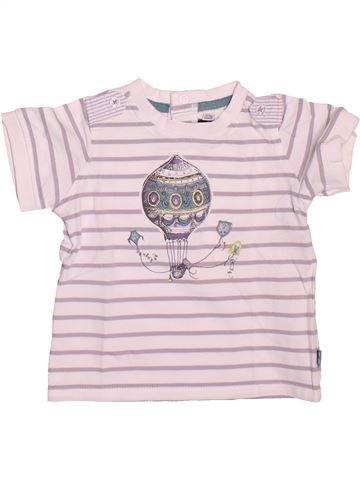 T-shirt manches courtes garçon SERGENT MAJOR rose 12 mois été #1491213_1