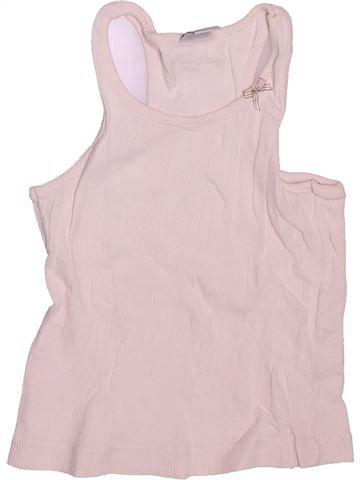 T-shirt sans manches fille PETIT BATEAU rose 4 ans été #1491229_1