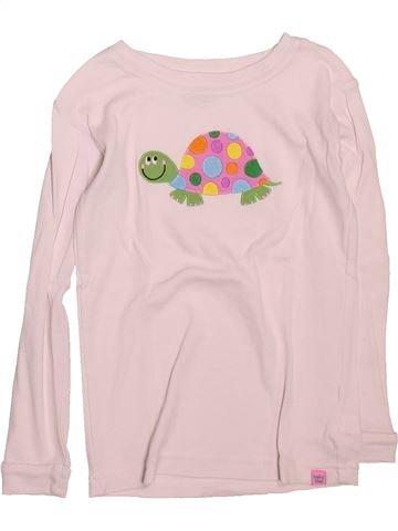 T-shirt manches longues fille GAP violet 4 ans hiver #1491232_1