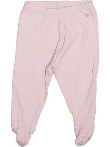 Pantalon garçon OKAIDI blanc 9 mois été #1491367_1