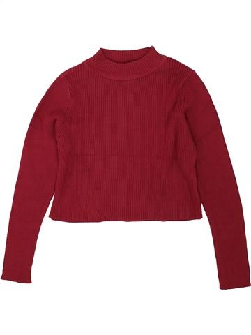 Pull fille NEW LOOK violet 9 ans hiver #1491445_1