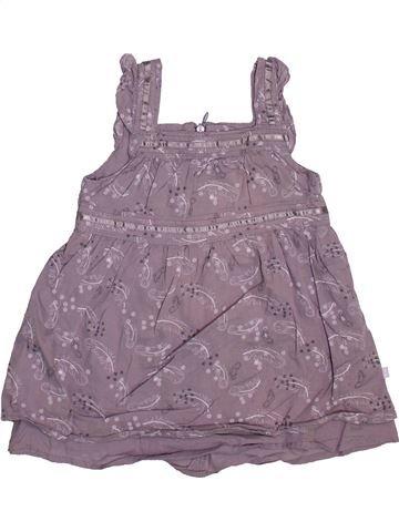 Robe fille OKAIDI gris 6 mois été #1491481_1