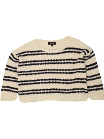 Pull fille NEW LOOK bleu 11 ans hiver #1491585_1