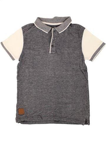 Polo manches courtes garçon PRIMARK gris 10 ans été #1491789_1