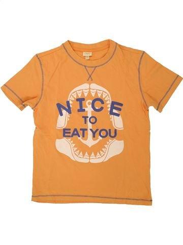 T-shirt manches courtes garçon OVS orange 10 ans été #1491842_1
