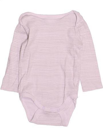 Camiseta de manga larga niño GEMO blanco 9 meses invierno #1491857_1