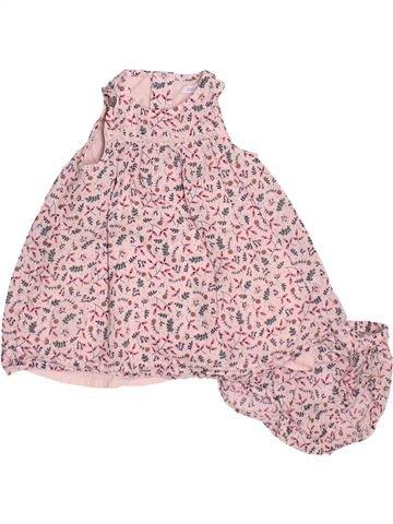 Robe fille BOUT'CHOU rose 3 mois été #1491883_1