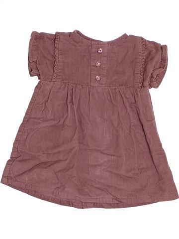 Robe fille KIABI marron 6 mois hiver #1491921_1
