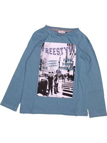 Camiseta de manga larga niño 3 POMMES azul 5 años invierno #1492035_1
