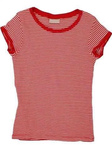 T-shirt manches courtes fille I LOVE GIRLSWEAR orange 11 ans été #1492118_1