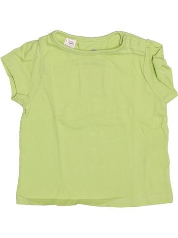 Camiseta de manga corta niña DOMYOS verde 18 meses verano #1492202_1