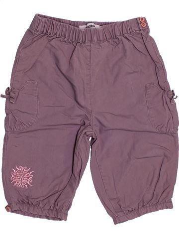 Pantalon fille TAPE À L'OEIL violet 6 mois hiver #1492235_1