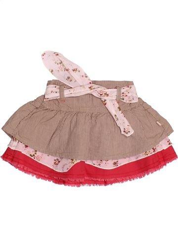 Falda niña JEAN BOURGET rosa 6 meses verano #1492245_1