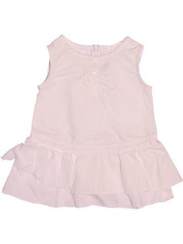 Vestido niña IKKS rosa 6 meses verano #1492258_1