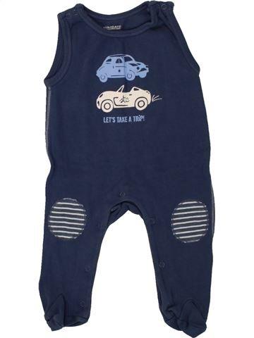 Pijama de 1 pieza niño STACCATO azul 3 meses verano #1492287_1