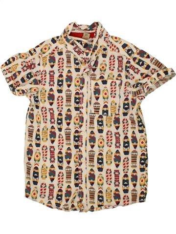Chemise manches courtes garçon TU beige 8 ans été #1492290_1