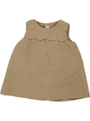 Robe fille ZARA marron 12 mois hiver #1492298_1