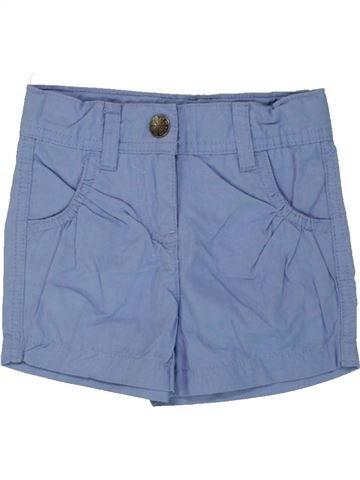Short - Bermuda fille IMPIDIMPI bleu 18 mois été #1492380_1