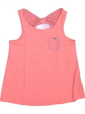 T-shirt sans manches fille OKAIDI rose 6 ans été #1492444_1