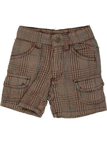 Short-Bermudas niño IMPIDIMPI marrón 6 meses verano #1492451_1