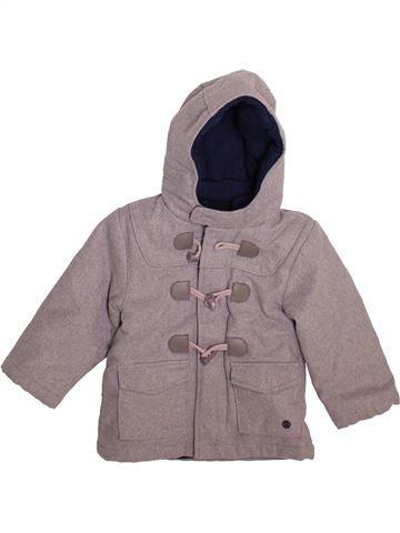 Manteau garçon KIMBALOO gris 2 ans hiver #1492564_1