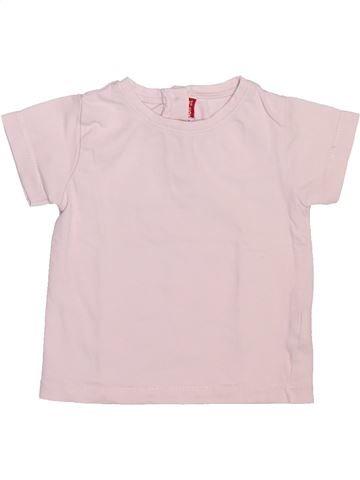 T-shirt manches courtes unisexe DPAM violet 12 mois été #1492768_1