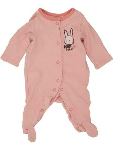 Pyjama 1 pièce fille PEP&CO rose naissance été #1492796_1