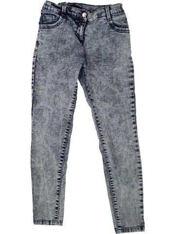 Jean fille F&F gris 11 ans hiver #1492800_1
