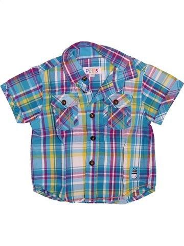 Chemise manches courtes garçon LA COMPAGNIE DES PETITS bleu 18 mois été #1492823_1