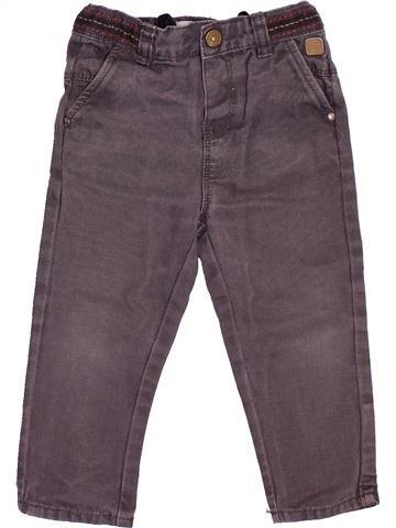 Pantalon garçon OKAIDI gris 18 mois hiver #1492842_1