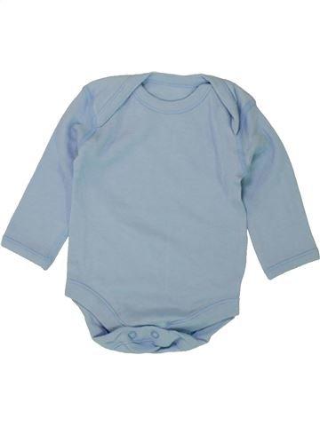 T-shirt manches longues garçon MATALAN bleu 3 mois hiver #1492917_1