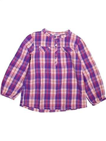 Blouse manches longues fille KIABI violet 5 ans hiver #1492939_1