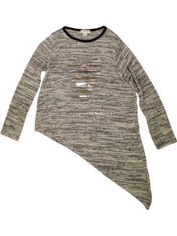 Pull fille RIVER ISLAND marron 8 ans hiver #1492995_1