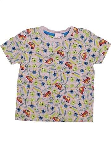 T-shirt manches courtes garçon MINI CLUB gris 2 ans été #1493165_1
