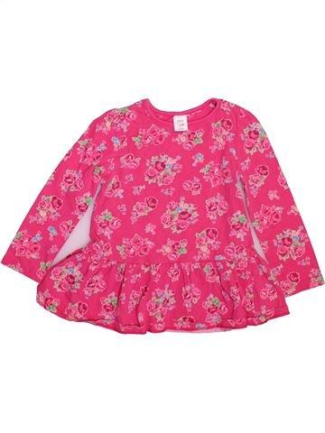 T-shirt manches longues fille MINI CLUB rose 2 ans hiver #1493166_1