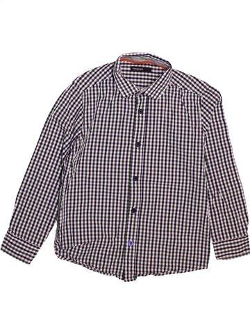 Chemise manches longues garçon MARKS & SPENCER gris 8 ans hiver #1493179_1
