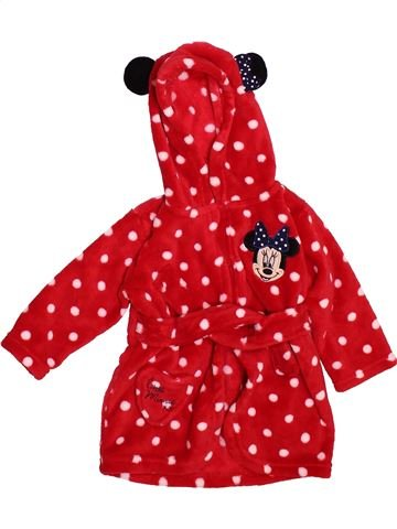 Robe de chambre fille GEORGE rouge 9 ans hiver #1493233_1