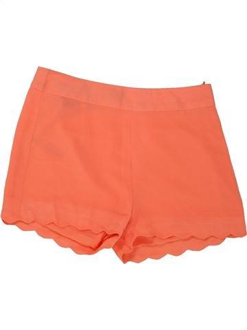 Short - Bermuda fille NEW LOOK orange 11 ans été #1493256_1