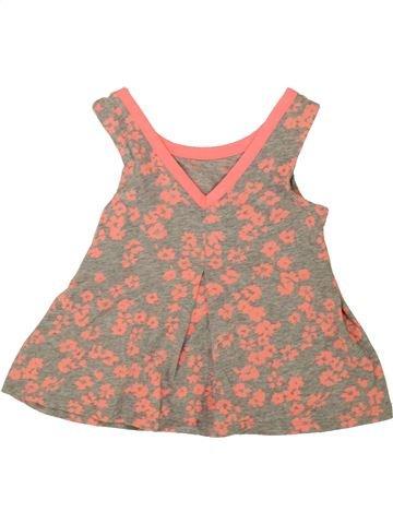 T-shirt sans manches fille GAP rose 5 ans été #1493389_1