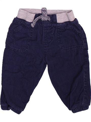 Pantalon garçon F&F bleu 9 mois hiver #1493494_1