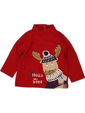 Camiseta de cuello alto niño C&A rojo 6 meses invierno #1493511_1
