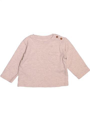 T-shirt manches longues garçon MARKS & SPENCER violet 12 mois hiver #1493517_1