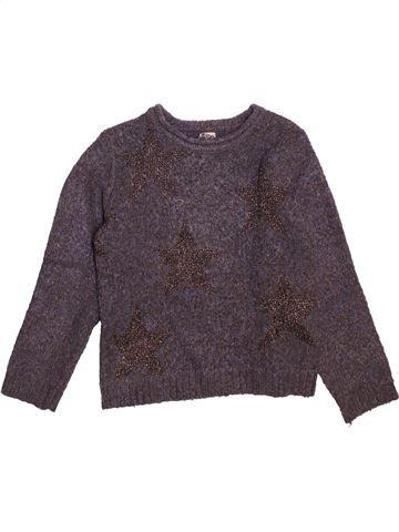 Pull fille TAPE À L'OEIL violet 8 ans hiver #1493551_1