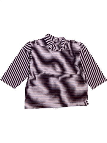 Camiseta de cuello alto niño SUCRE D'ORGE violeta 12 meses invierno #1493563_1