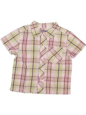 Chemise manches courtes garçon TAPE À L'OEIL beige 9 mois été #1493566_1