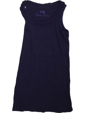T-shirt sans manches fille MATALAN noir 8 ans été #1493647_1