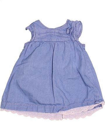 Vestido niña KIABI azul 6 meses verano #1493671_1