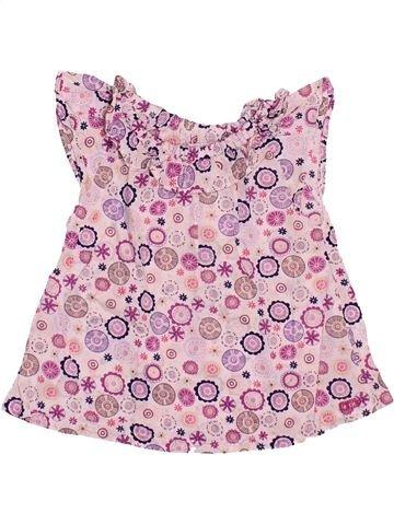 Blusa de manga corta niña LA COMPAGNIE DES PETITS rosa 6 meses verano #1493720_1