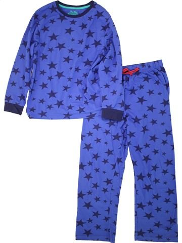 Pyjama 2 pièces garçon MARKS & SPENCER bleu 10 ans hiver #1493790_1
