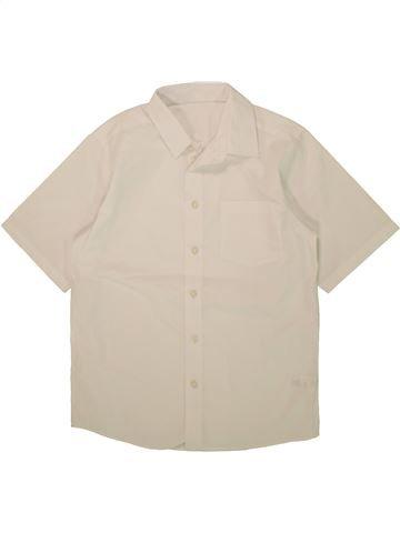 Chemise manches courtes garçon TU beige 11 ans été #1493811_1